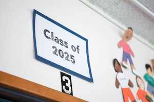 The Class of 2025 was in fourth grade during the 2016-17 school year.