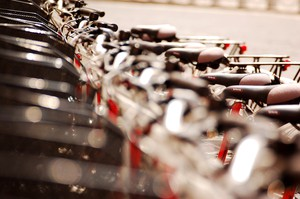 Portland's bike renting program is expected to cost about $2.50 for half an hour, or $10 to $15 for an annual membership.