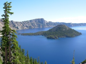 Crater Lake, Oregon's only national park, in 2016.