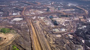 The Alberta Oil Sands deposits make up the third-largest oil reserve in the world.