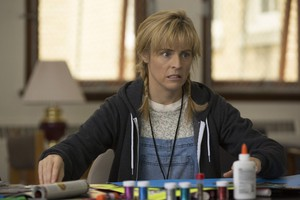 "A scene from ""Lady Dynamite"": art therapy in the psych ward."