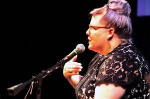 """Seattle-based Lindy West says pop culture wars were completely unexpected. She began as a critic, writing about movies, comedy, and more. Her memoir is """"Shrill: Notes from a Loud Woman""""."""