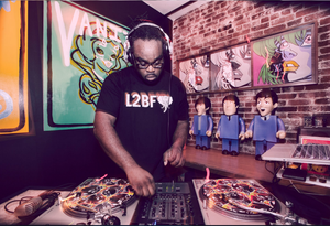 DJ Ambush is a radio personalityon The Numberz — a Portland station featuring an all-Black, non-commercial format. The Numberz airs on 96.7 fm.