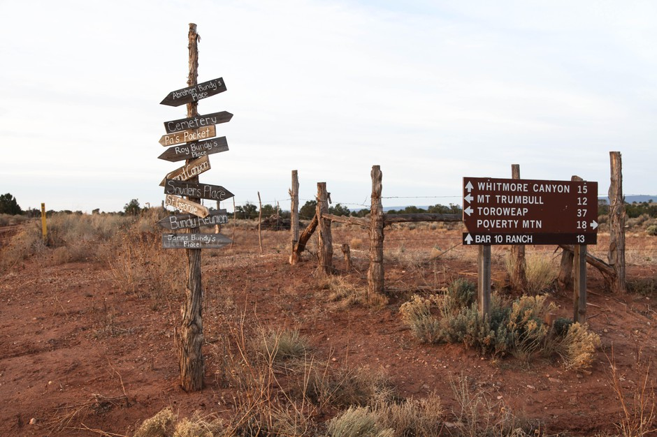 The site of the ghost town Bundyville is miles from any nearby settlements. Rutted out and muddy roads meant the area was only accessible by horse until the 1920s.