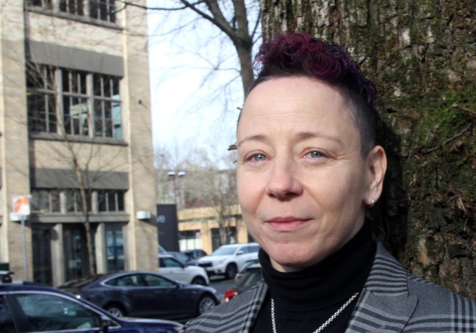 """""""I think the challenges facing RACC are the challenges facing Portland."""" Madison Cario started work as executive director of the Regional Arts and Culture Council on Jan. 14, 2019."""