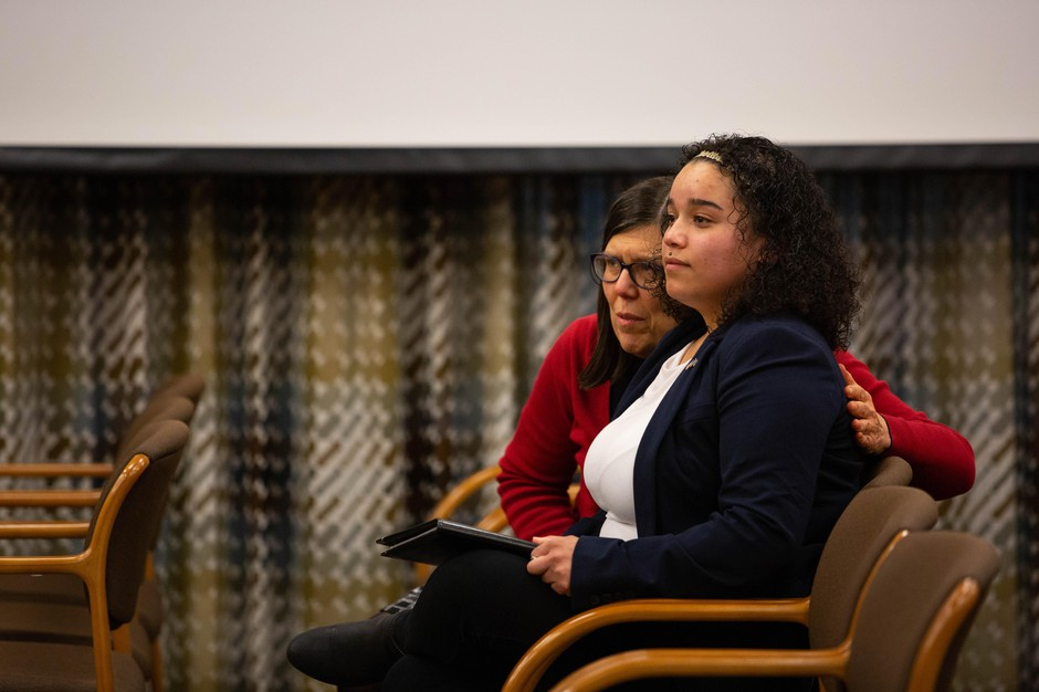 Whitney Rogers, a foster youth, described the treatment she received in the Oregon foster care system.