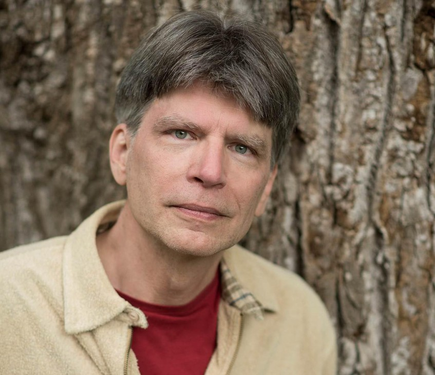 "Author Richard Powers won a Pulitzer Prize for his novel, ""The Overstory."""