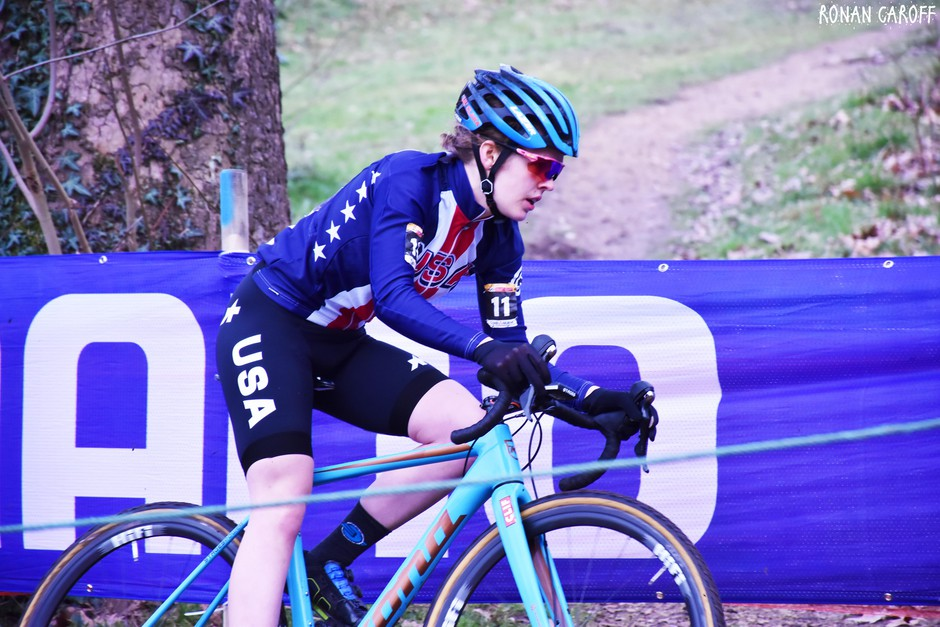 Oregonian Clara Honsinger won a national title in women's cyclocross in 2018. She's competing for a title again in December 2019.