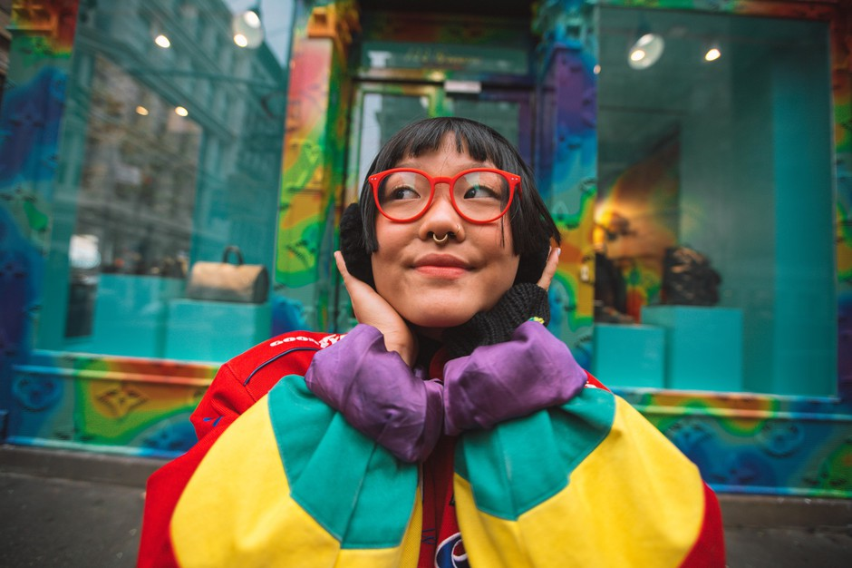Ameya Marie Okamoto is a social practice artist who grew up in Portland. She partners in making art with many progressive organizations but is largely known for her memorial portraits centered around the Black Lives Matter movement.