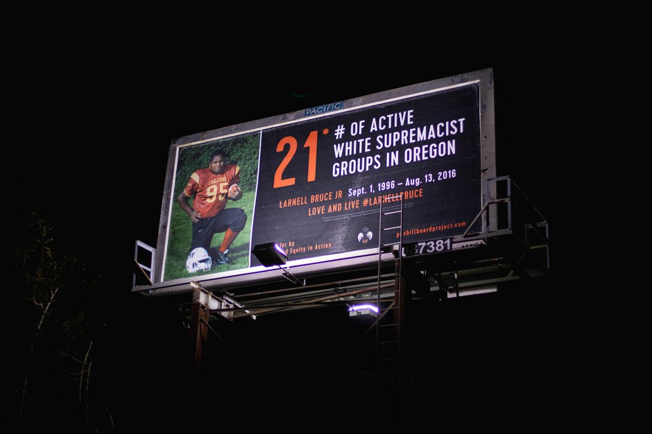 PDX Equity in Action launched its PDX Billboard Project in the spring of 2017, following the fatal police shootings of two black men.