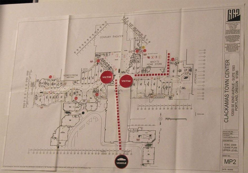 Chronology Of Mall Released By Clackamas Co. Sheriff . News | OPB on