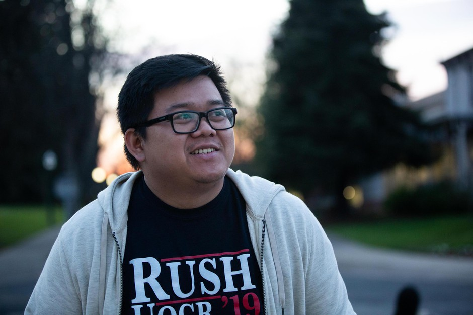 University of Oregon student Khang Ngo said he supports strict immigration laws and believes lenient rules are unfair to legal immigrants.