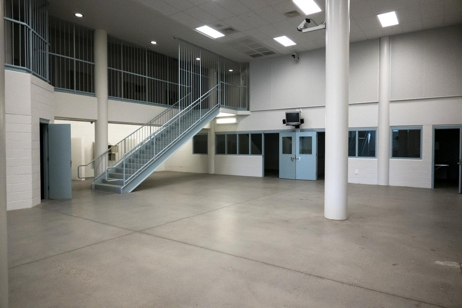 The inside of Wapato Jail. Alan Evans says the proposedcenter would fit230 beds to start, spread across three of the jail's wings — one for men, one for women and one forfamilies.