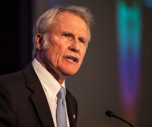 Former Oregon Gov. John Kitzhaber resigned in 2015 amid suspicion that his fiancee used her relationship with him to secure consulting contracts.
