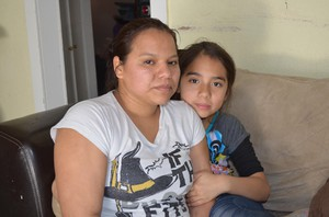 Patricia Marin says her daughter Azul has been suffering from asthma since she was just a baby.